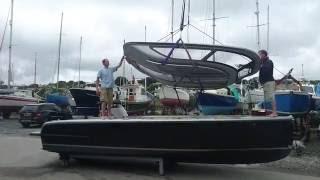 Cockwells 7m Limousine Superyacht Tender - Roof Flip
