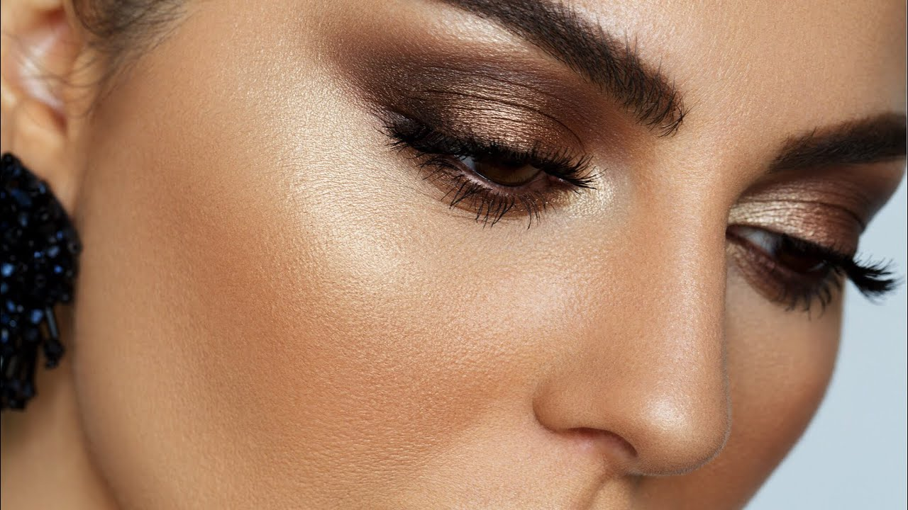 zendaya oscars brown smokey eye makeup tutorial | mostly affordable | 2018