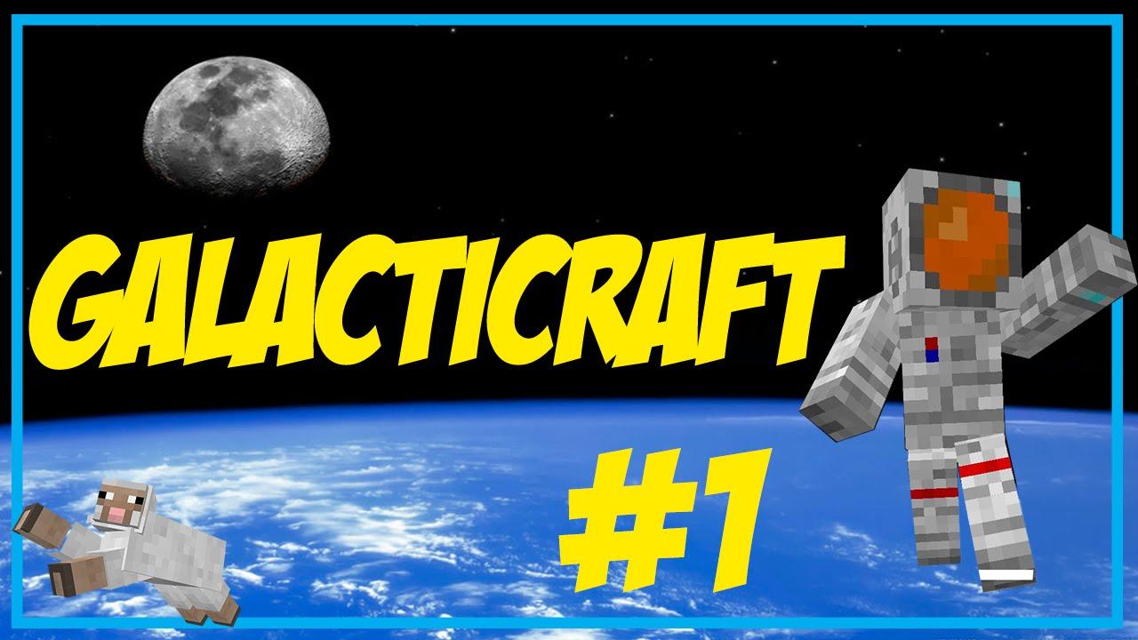 Galacticraft | Allons sur la lune en fusée #1 | Doovi