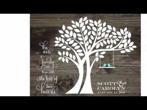 Wedding Tree Guest Book Alternatives