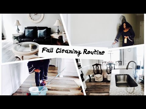FALL CLEAN WITH ME ROUTINE; FAMILY ROOM/FORMAL DINING ROOM/OFFICE.....
