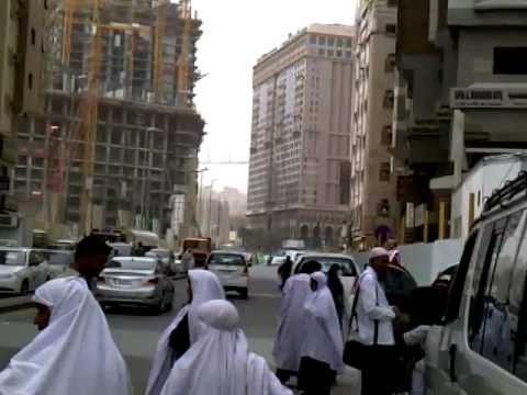 Makkah Hotels Demonstration ( B ) SHAHRAH-E-IBRAHIM KHALIL( Wali Travel & Tours)Jun2012