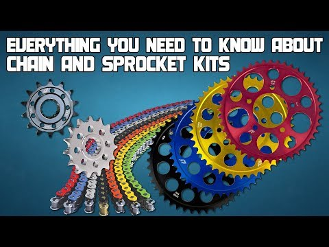 Everything You Need To Know About Chain And Sprocket Kits From Sportbiketrackgear.com