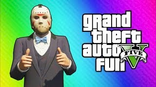 GTA 5 Online Funny Moments - Car Horn Orchestra, Freeze Glitch, New Lamborghini Car (High-Life DLC) thumbnail