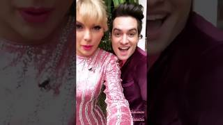 Brendon Urie & Taylor Swift getting ready for The Voice Finale!