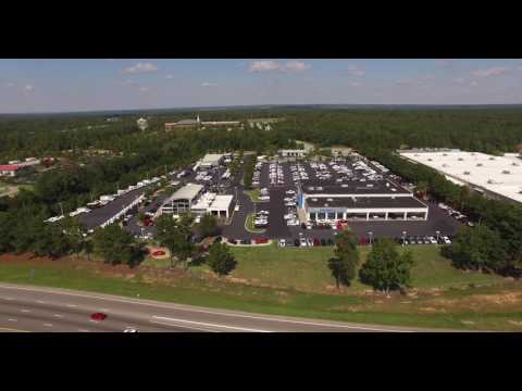 Drone footage of Love Chevrolet