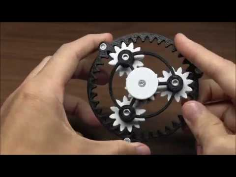 3d printed planetary gear fidget spinner on thingiverse youtube. Black Bedroom Furniture Sets. Home Design Ideas