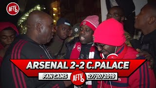 Arsenal 2-2 Crystal Palace | Is It The End For Xhaka & Emery? (Robbie Asks Fans) Ft Ty & Belgium