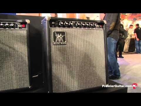 Musikmesse '14 - Music Man HD 130 Combo and CLB-2 Overdrive/Boost Demos
