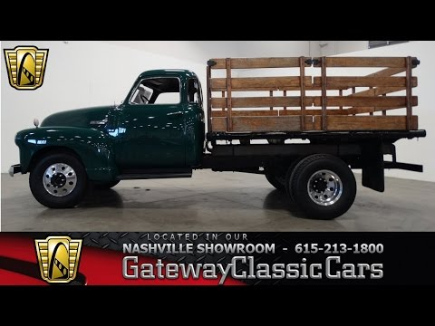 1948 Chevrolet 3800 Stakebed - Gateway Classic Cars of Nashville #196