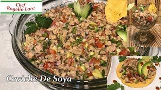 Cómo Hacer Ceviche De Soya ,Nutritivo,Económico ,Fácil Y Delicioso! Nuestra Oraciones Están Con nuestros Hermanos En Guatemala Ceviche de Soya ...
