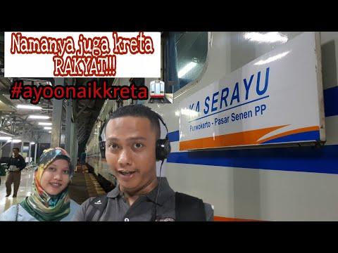 Naik Kereta Ekonomi AC Serayu Dengan Harga Yang Murah Favorit Masyarat Jakarta