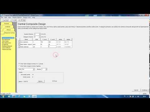 Design Expert 7: Analisa Data 3 Variabel 1 Respon Dengan RSM Menggunakan CCD