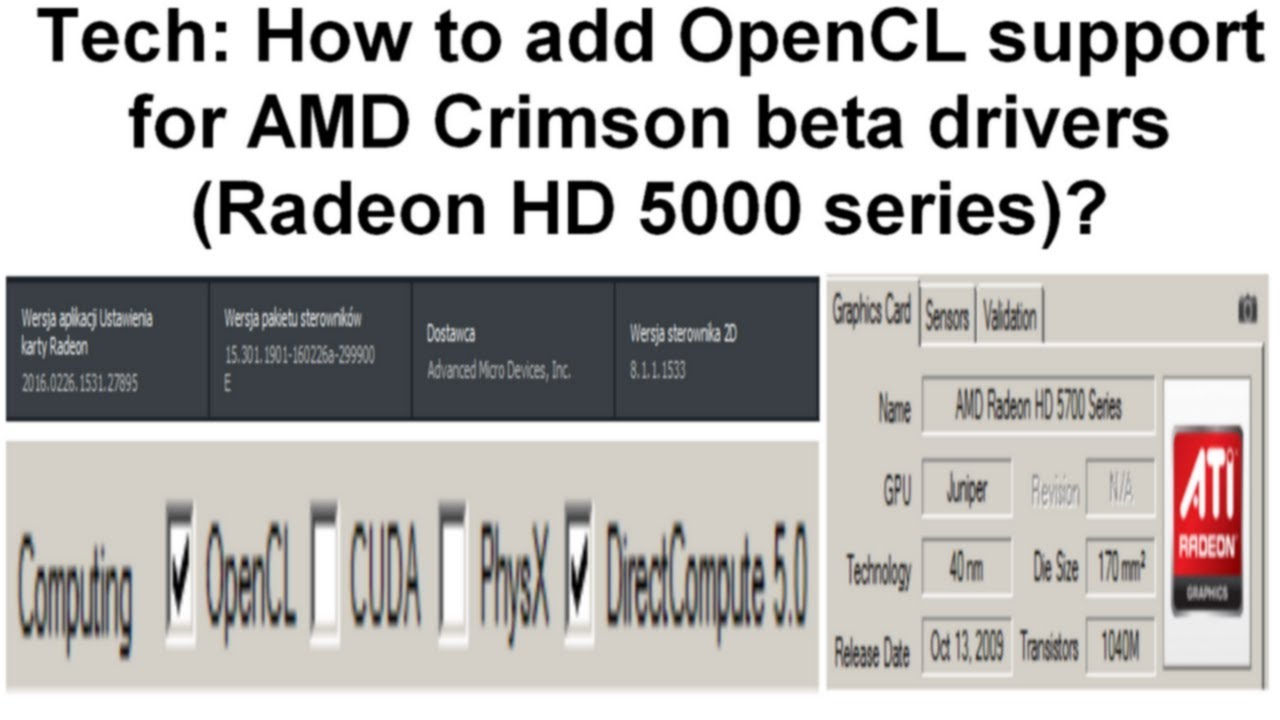 ATI MOBILITY RADEON OPENCL DRIVERS FOR MAC