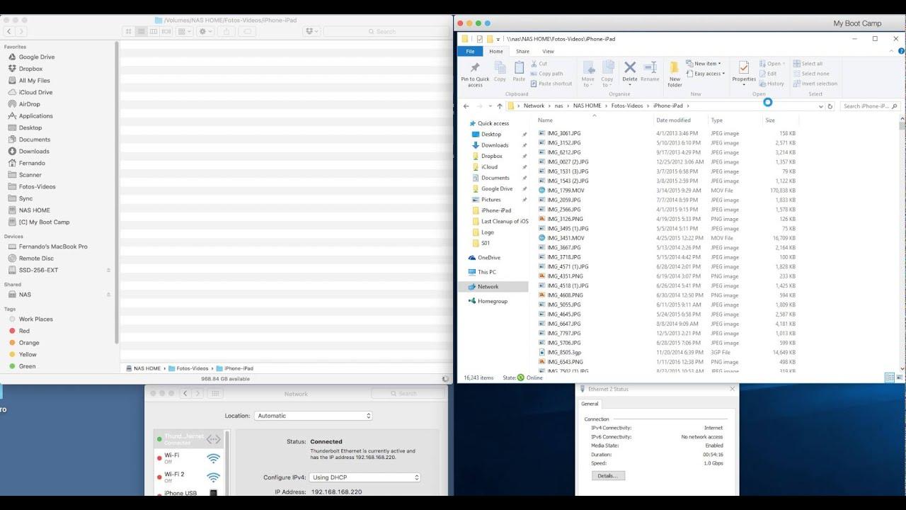 OS X Finder vs Windows 10 File Explorer - Performance Test showing awful  speeds on Finder
