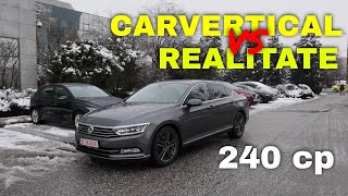 VW Passat BiTDI 240 cp. PLUS: CarVertical vs Realitate