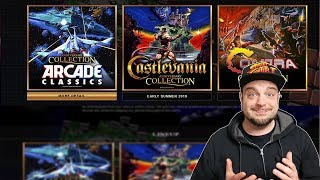 Castlevania and Contra REVEALED For Nintendo Switch! | RGT 85