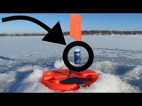 BLUE TIPZ Bluetooth Alarm On Phone Ice Fishing! Review