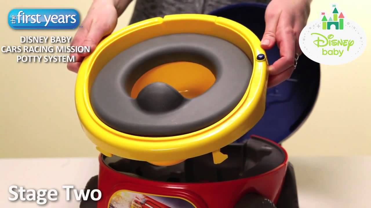 disney pixar cars racing mission potty system from the first years