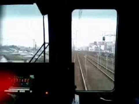 The way from Ichikawa to Funabashi(Chiba)