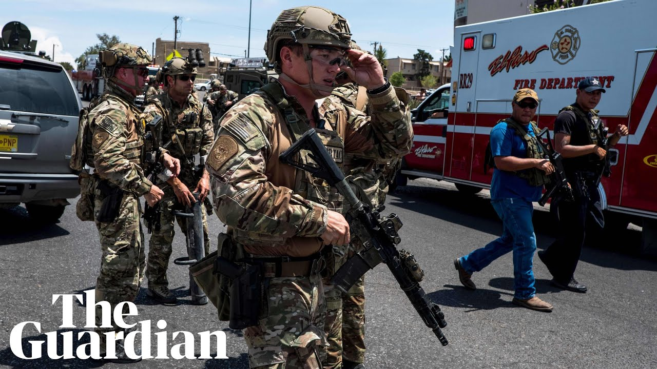 The United States reels as two mass shootings in 13 hours leave 29 dead