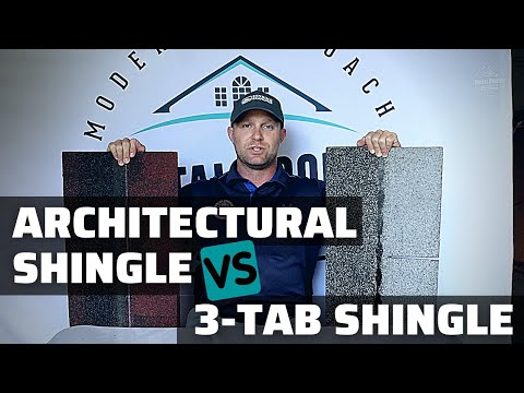 Architectural VS 3-Tab Shingle (What's The Difference?)
