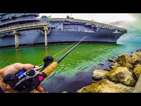 fishing by an u.s. aircraft carrier versus ThresherFishing