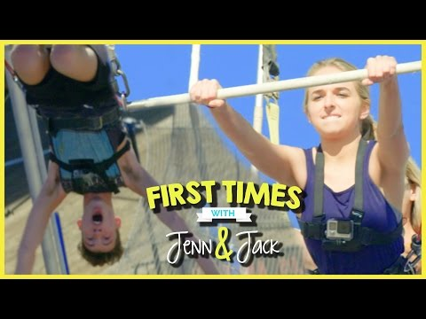 TRAPEZE TRICKS W/ JENNXPENN AND THATSOJACK | FIRST TIMES EP. 6