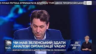 Олег Медведєв гість ток шоу Ехо України на Прямому 10 04 19
