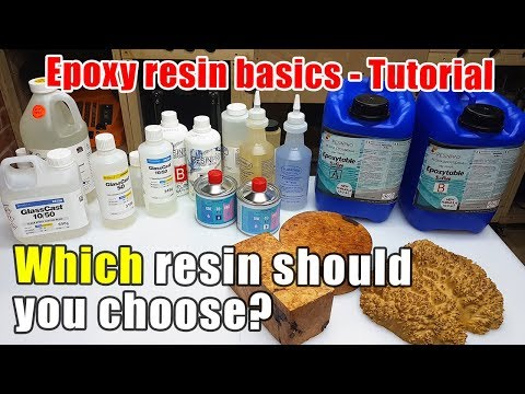 Resin Basics which Resin should you choose - Resin Tutorial