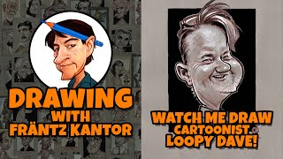 Watch me Draw Cartoonist Loopy Dave!