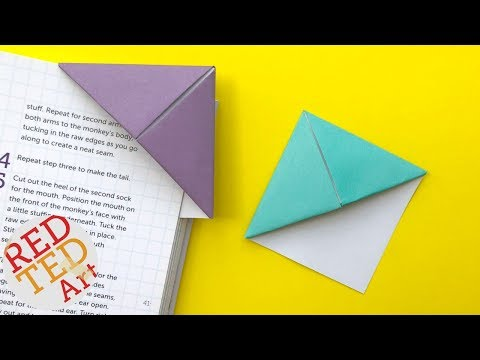 How to make a cool bookmark step by