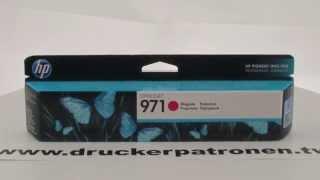 HP Druckerpatrone 727 Magenta