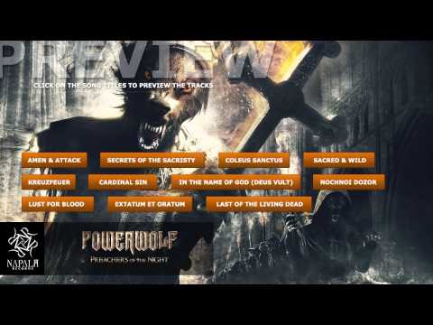 POWERWOLF - Preachers of the Night (Preview) | Napalm Records