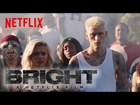 Bright: Behind the Scenes | Machine Gun...