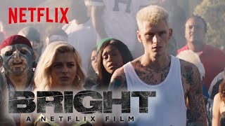 Bright: Behind the Scenes | Machine Gun Kelly, X Ambassadors and Bebe Rexha - Home | Netflix