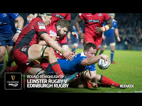 Round 15 Highlights: Leinster Rugby v Edinburgh Rugby | 2016/17 season