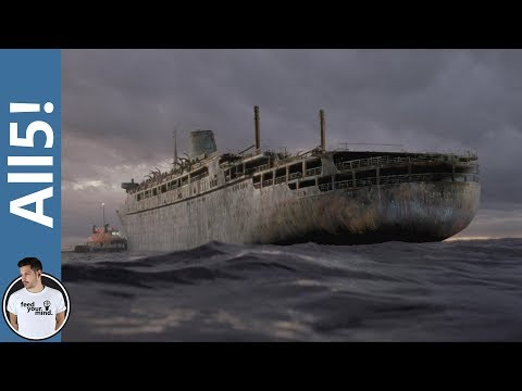 5 Creepy Real Life Ghost Ships!