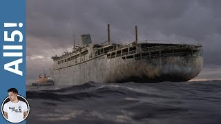 Video 5 Creepy Real Life Ghost Ships! download MP3, 3GP, MP4, WEBM, AVI, FLV September 2017
