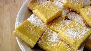 Lemon Bars - Recipe By Laura Vitale - Laura In The Kitchen Episode 136