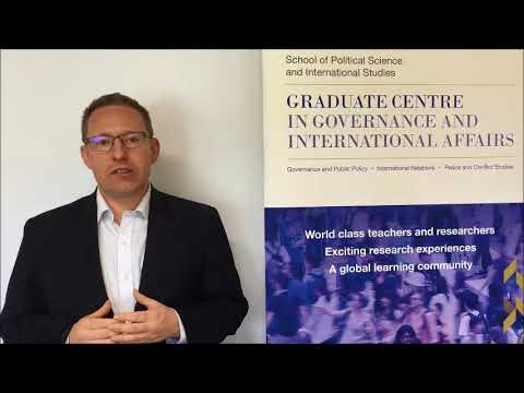 Associate Professor Andrew Phillips UQ School of Political Science and International Studies