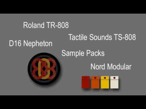 Roland TR 808 Comparison Clavia Nord Modular Nepheton TS And Sample Packs