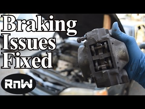 How to Diagnose Brake Issues - Shaky Steering Wheel, Noise, Hard or Spongy Brake Pedal Diagnosis