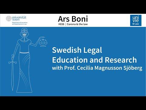 Ars Boni 38 - Swedish Legal Education and Research (Stockholm)