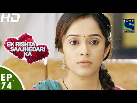Download Ek Rishta Saajhedari Ka - एक रिश्ता साझेदारी का - Episode 74 - 17th November, 2016