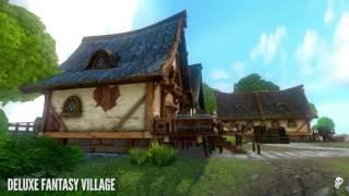 Deluxe Fantasy Village Asset Pack