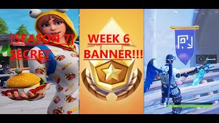 SECRET BANNER WEEK 6 [SEASON 7] LOCATION! Fortnite Battle Royale– BATTLEPASS GIVEAWAY!!