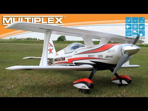 ROCKSTAR von MULTIPLEX Modellsport Video Testbericht - Flugbericht