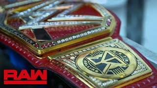 The Universal Championship receives custom Seth Rollins plates: WWE Exclusive, April 8, 2019