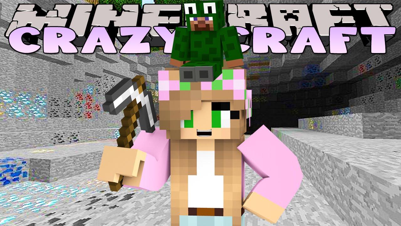 Minecraft crazy craft 3 0 kings dungeon craziness youtube